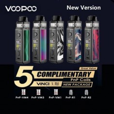 Voopoo Vinci X 70w LIMITED EDITION 5 Coils