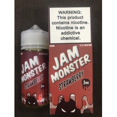 USA | Jam Monster | Jam mix Butter mix Fruit | Strawberry | Bánh mứt Dâu |  VapeVL