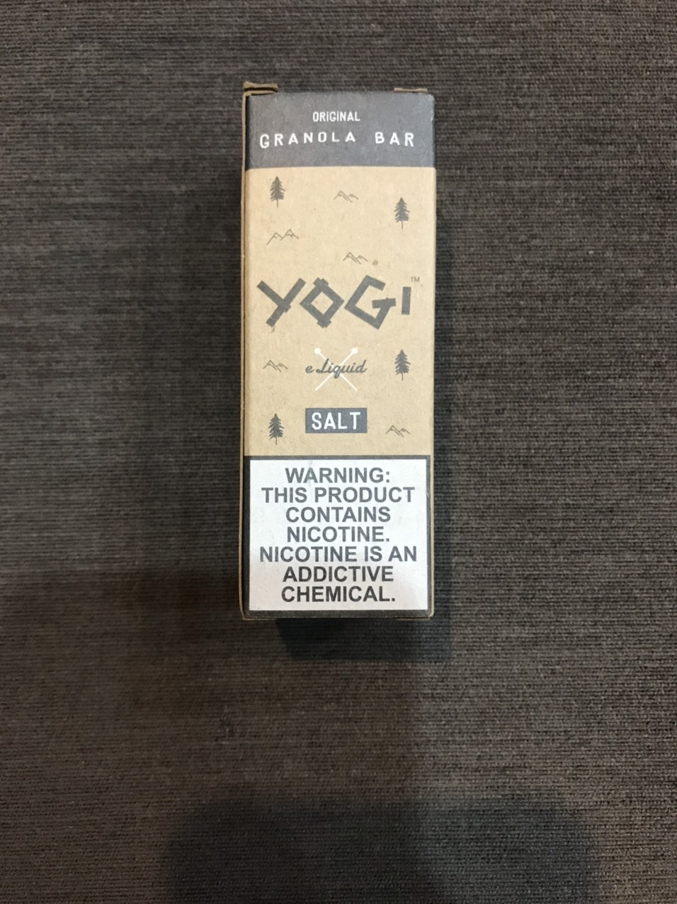 USA | Salt 35ni - 50ni  | 30ml | YOGI | GRANOLA BAR | Ngũ cốc  |VpeVL