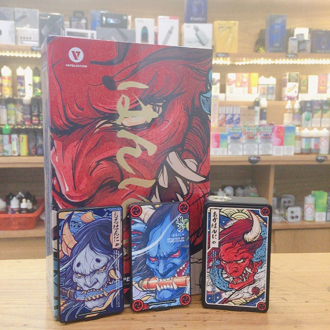 Vapelustion Hannya 230w Box Mod Limitted Edition