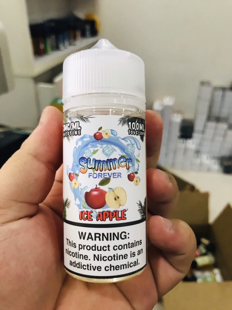 USA | 100ml | Summer Forever | Ice APPLE | TÁO the | VapeVL ( Mới )